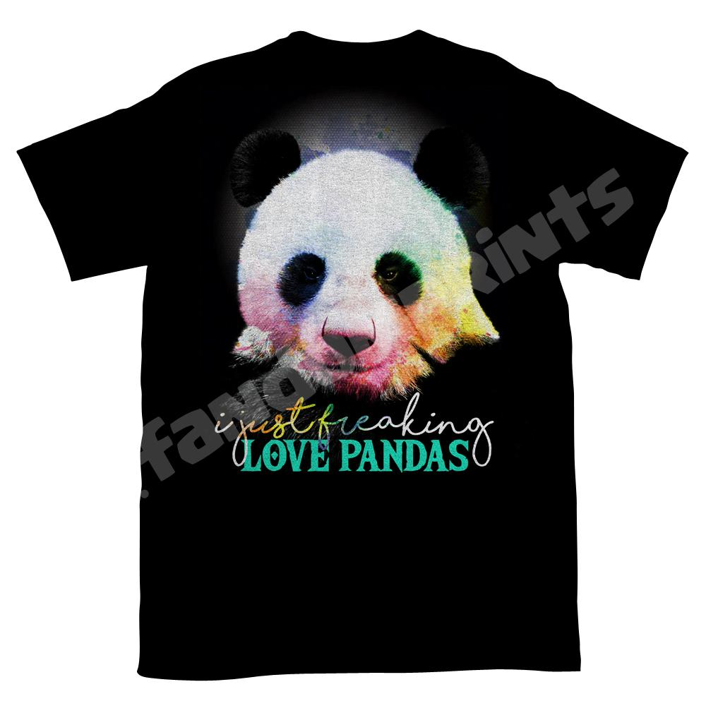 I just freaking love pandas unisex t-shirt