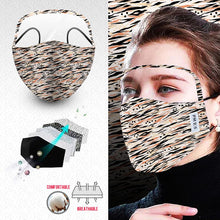 Face Mask with Eye Shield SKU055