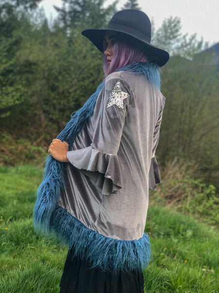 Stardust Duster in Gray