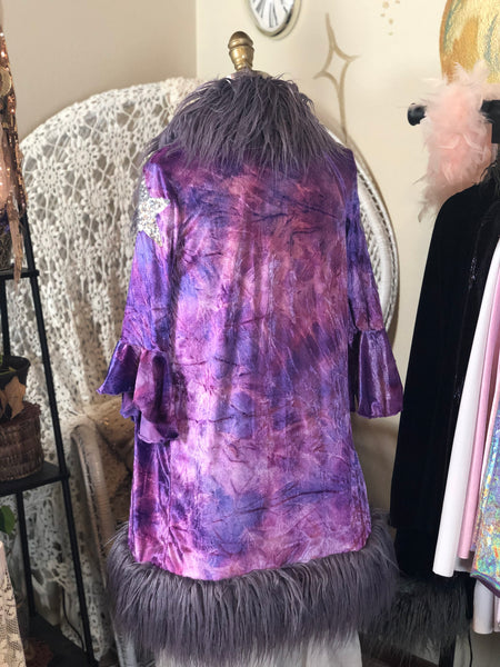 Stardust Jacket in Psychedelic Purple