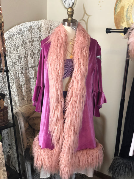 Stardust Duster in Orchid
