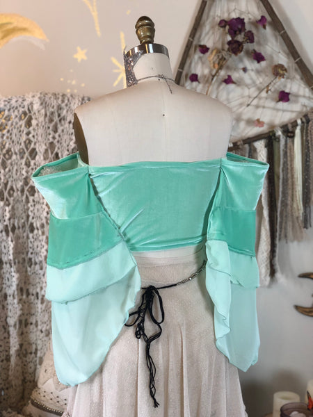 Serenity Bandeau in Mint