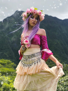 Festival Fairy Bandeau in Rose Pink