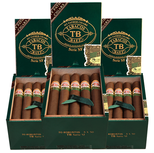 My Father Tobacos Baez Serie SF Robusto