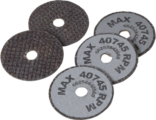 Reed Mfg 04502 - IC1RA Internal Pipe Cutter Replacement Abrasive Blade, 5-Pack - Edmondson Supply