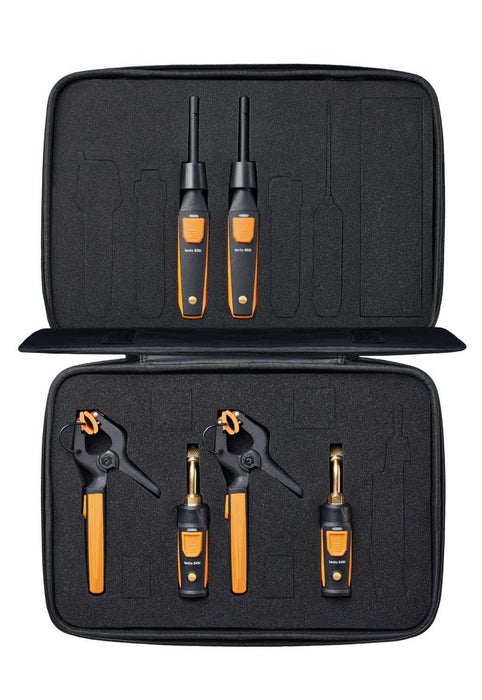 Testo 0563 0009 Smart Probes AC & Refrigeration Test & Load Kit - Edmondson Supply