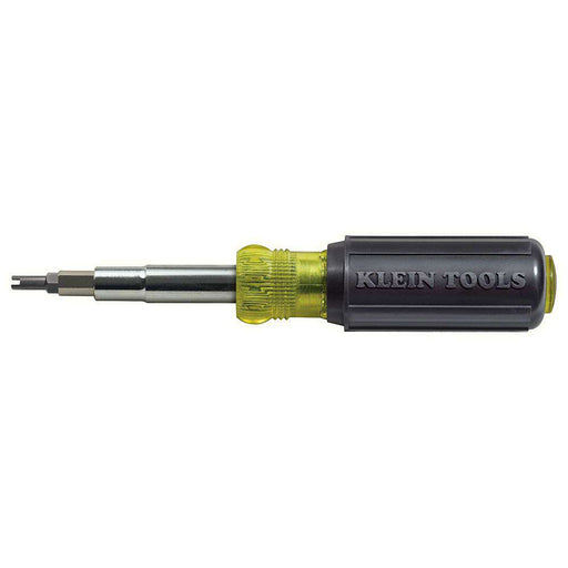 Klein Tools 32527 11-in-1 Screwdriver / Nut Driver with Schrader® Bit - Edmondson Supply