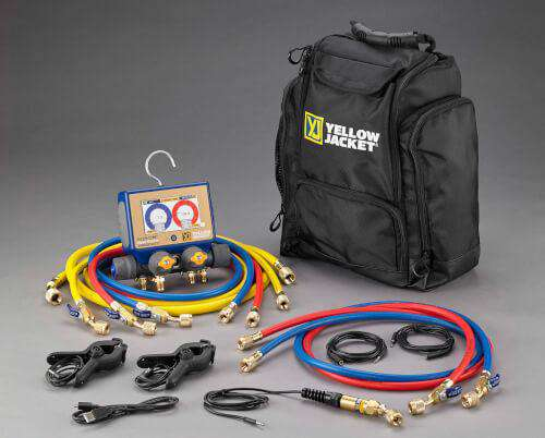 Yellow Jacket 40875 P51-870 TITAN™ Digital Manifold Mini-Split Kit - Edmondson Supply