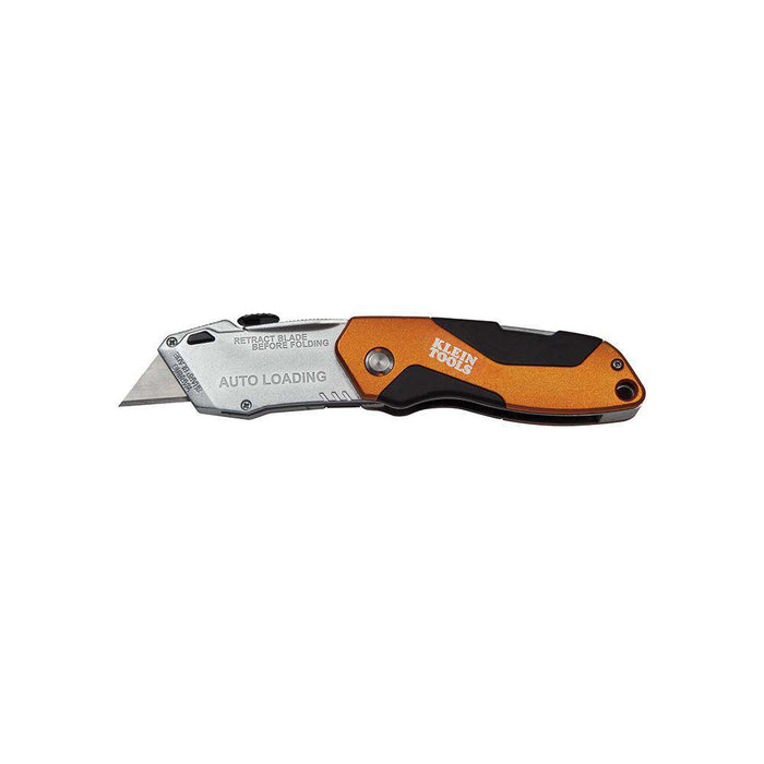 Klein Tools 44130 Auto-Loading Folding Utility Knife - Edmondson Supply
