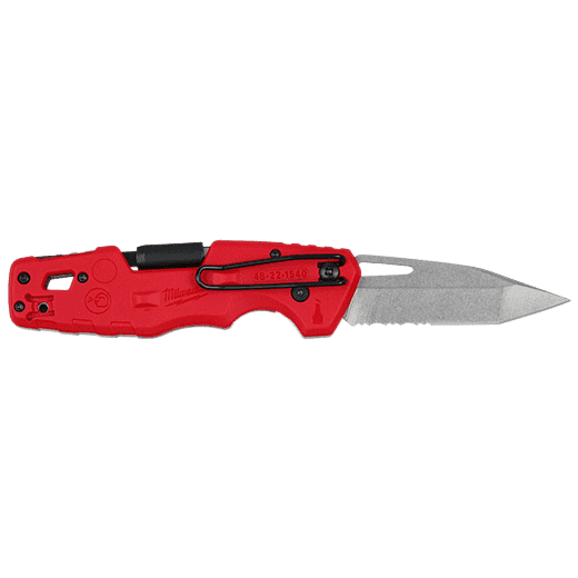 Milwaukee 48-22-1540 FASTBACK™ 5-in-1 Folding Knife - Edmondson Supply