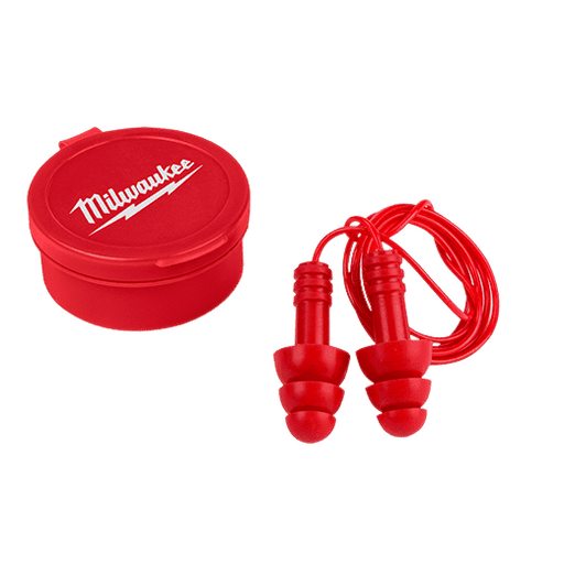 Milwaukee 48-73-3151 3 Pack Reusable Corded Ear Plugs - Edmondson Supply