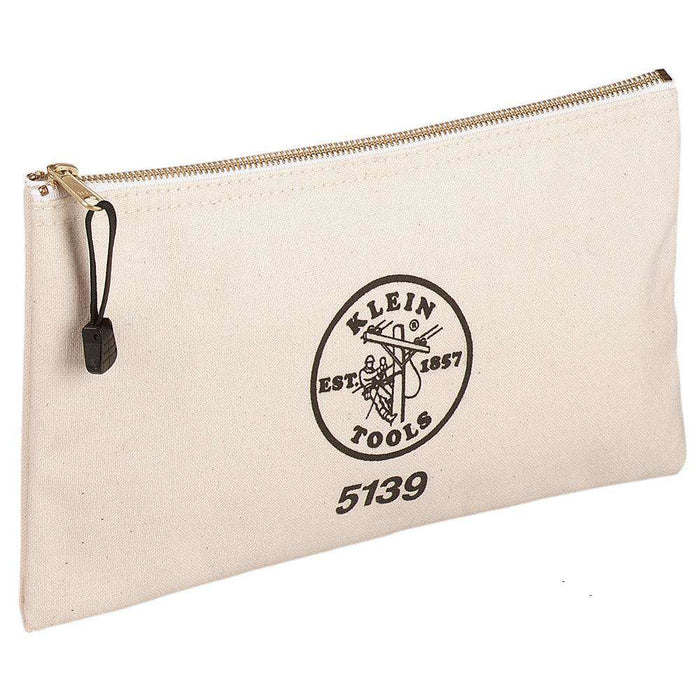 Klein Tools 5139 Canvas Zipper Bag - Edmondson Supply
