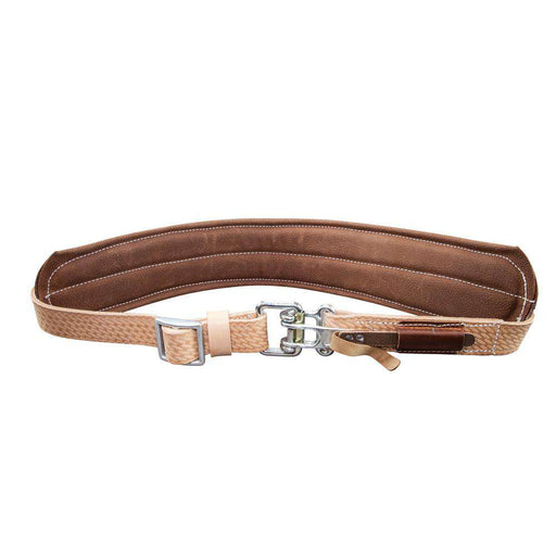 Klein Tools 5426M Padded Leather Quick-Release Belt, Medium - Edmondson Supply