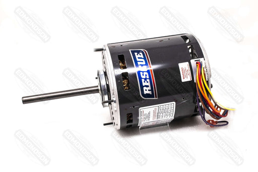 "US Motors 5471 Rescue 5.6"" Direct Drive Blower Motor, 208-230V, 3/4-1/5 HP, 1075 RPM - Edmondson Supply"