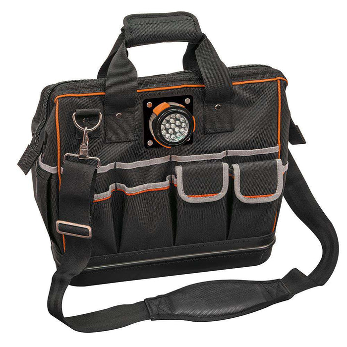 Klein Tools 55431 Tradesman Pro™ Lighted Tool Bag - Edmondson Supply