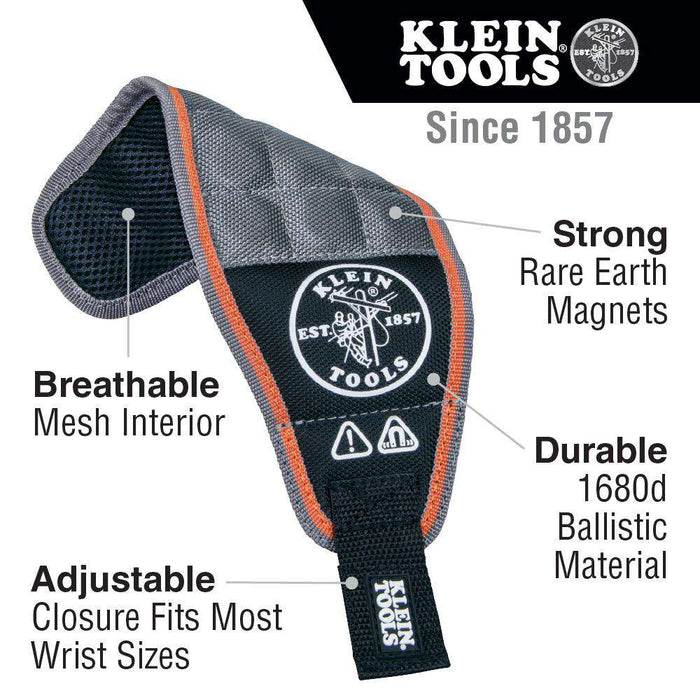 Klein Tools 55895 Tradesman Pro™ Magnetic Wristband - Edmondson Supply