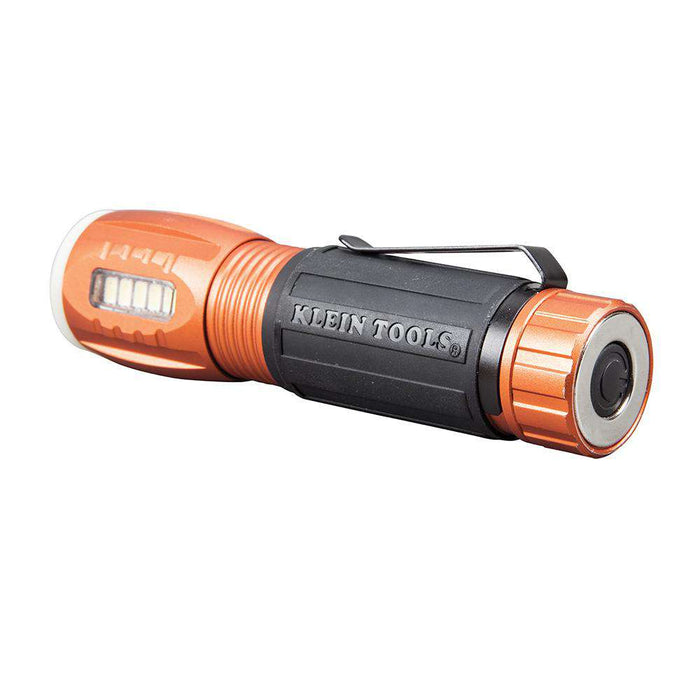 Klein Tools 56028 Flashlight with Worklight - LED Flashlight - Edmondson Supply