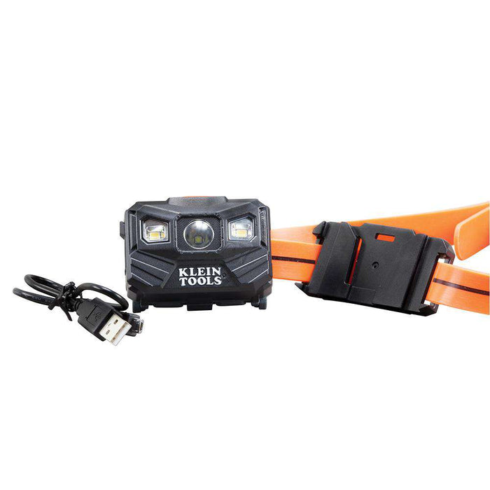 Klein Tools 56034 Rechargeable Auto-Off LED Headlamp - Edmondson Supply