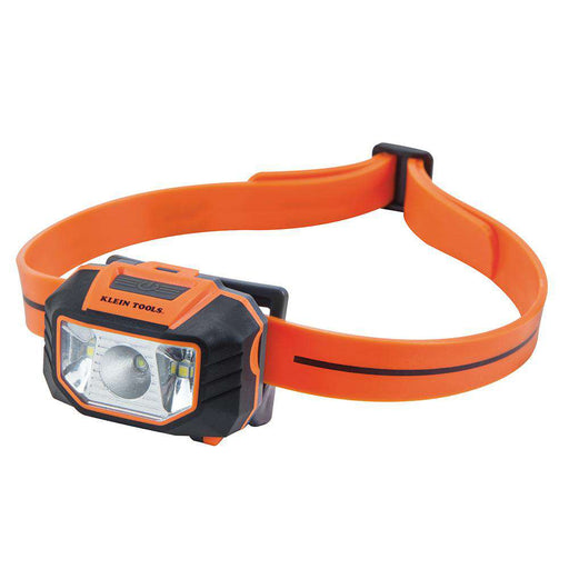 Klein Tools 56220 LED Headlamp Flashlight with Strap for Hard Hat - Edmondson Supply