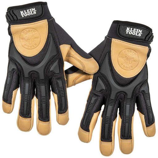 Klein Tools 60189 Leather Work Gloves, X-Large, Pair - Edmondson Supply