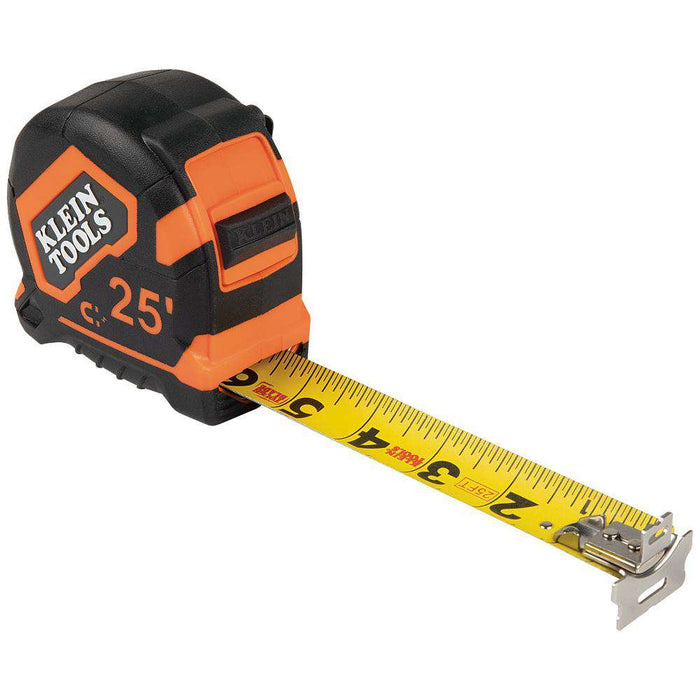 Klein Tools 9225 Tape Measure, 25-Foot Magnetic Double-Hook - Edmondson Supply