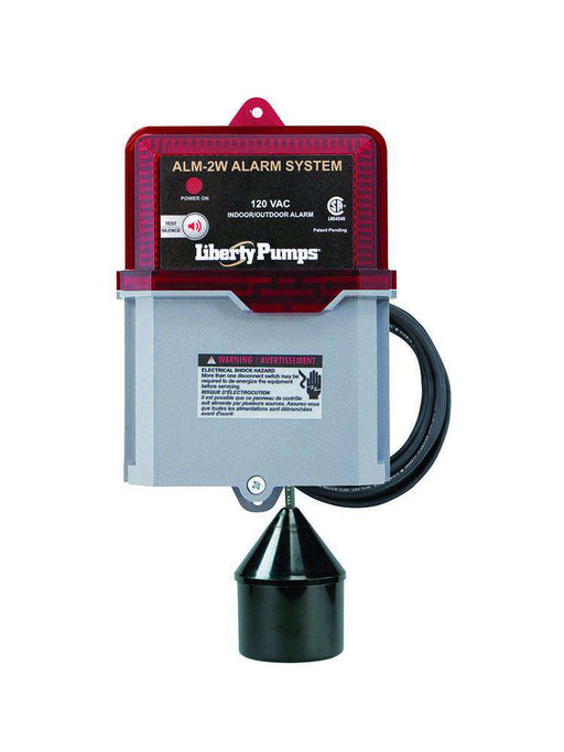 Liberty Pumps ALM-2W  Indoor/Outdoor High Liquid Level Alarm - Edmondson Supply