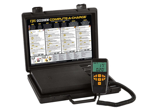 CPS CC220EW Compute-A-Charge Enhanced Wireless Refrigerant Charging Scale - Edmondson Supply