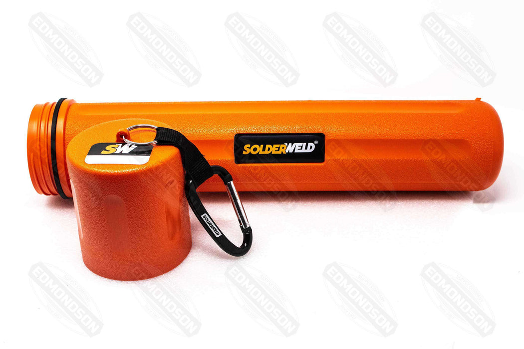 "SolderWeld SW-OBC 18"" Orange, Water Tight Rod Canister"