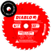 Diablo Tools D0632GPX 6-1/2 in. x 32 Tooth Wood & Metal Carbide Saw Blade