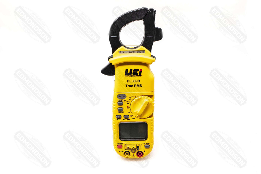 UEi DL389B TRMS Dual Display Clamp Meter with Temperature - Edmondson Supply