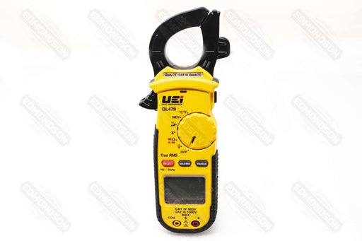 UEi DL479 AC 600A True RMS HVAC/R Clamp Meter - Edmondson Supply