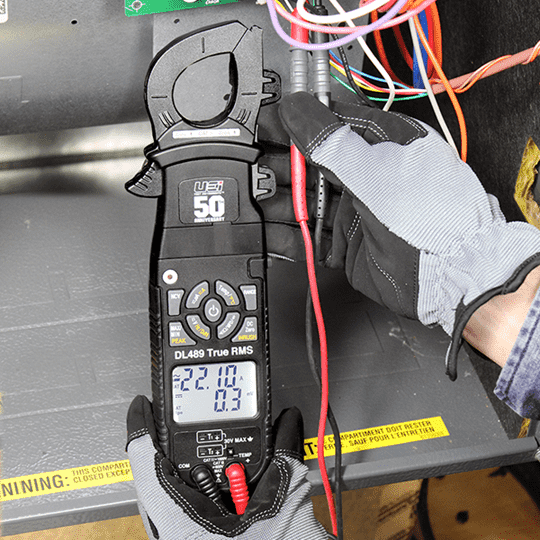 UEi DL489 Commemorative Edition True RMS Digital Clamp Meter - Edmondson Supply
