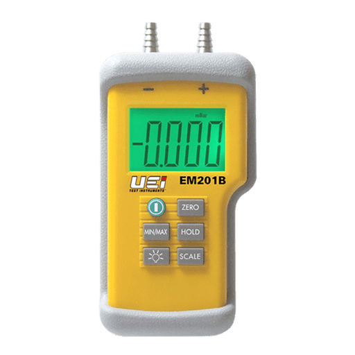 UEi EM201B Dual Input Differential Manometer