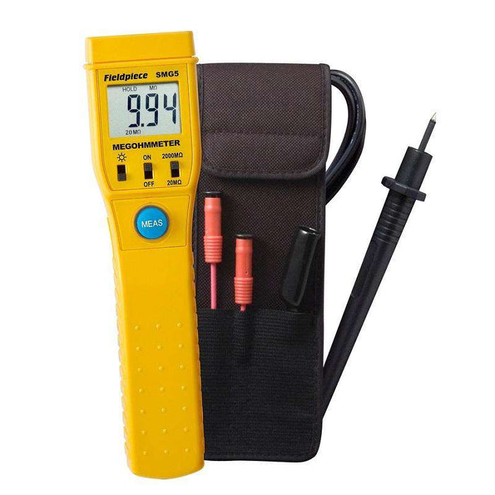 Fieldpiece SMG5 Digital Megohm Meter - Edmondson Supply