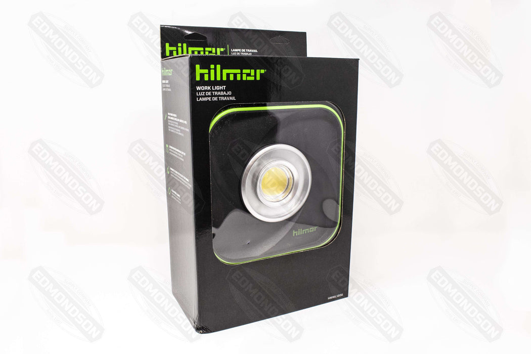Hilmor HMWL1200 1200 Lumen Rechargeable Work Light - Edmondson Supply