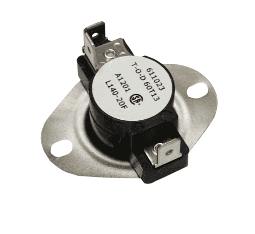 Supco LD140 LD-Series Snap-Action SPDT Limit Control Thermostat, L140-20F - Edmondson Supply