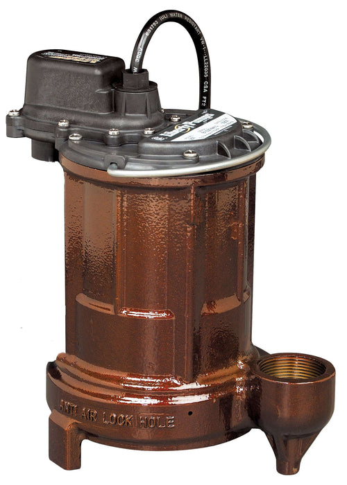 Liberty Pumps 253 1/3 HP Cast Iron Sump/Effluent Pump - Edmondson Supply