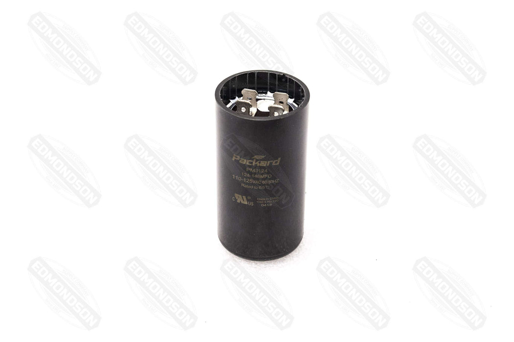 Packard PMJ124 Motor Start Capacitor 124-149 MFD 110-125 VAC - Edmondson Supply