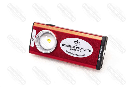 Sensible Products RPL-1 Rechargeable Pocket Flashlight, Red - Edmondson Supply