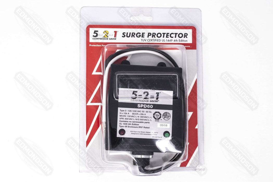 5-2-1 SPD60 Surge Protector, 120/240V, Rated up to 60,000 Amps