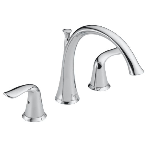 Delta Faucet T2738 Lahara Roman Tub Trim, Chrome - Edmondson Supply