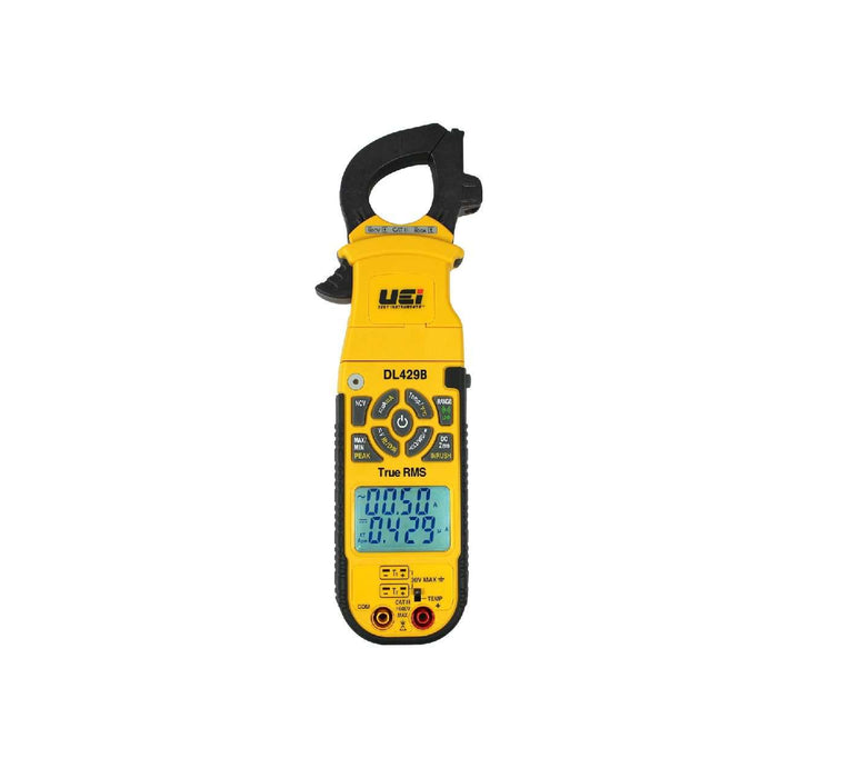 UEi DL429B True RMS Digital Clamp Meter w/ Wireless and Differential Temperature - Edmondson Supply