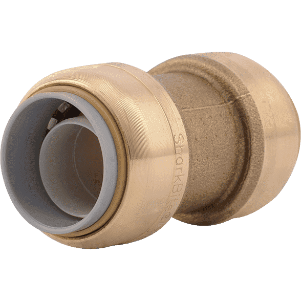 "Sharkbite U4016LF 3/4"" PB x 3/4"" SB PB Polybutylene Transition Coupling - Edmondson Supply"