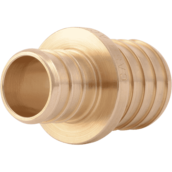 "SharkBite UC060LF 3/4"" x 1"" Brass PEX Crimp Reducing Coupling - Edmondson Supply"