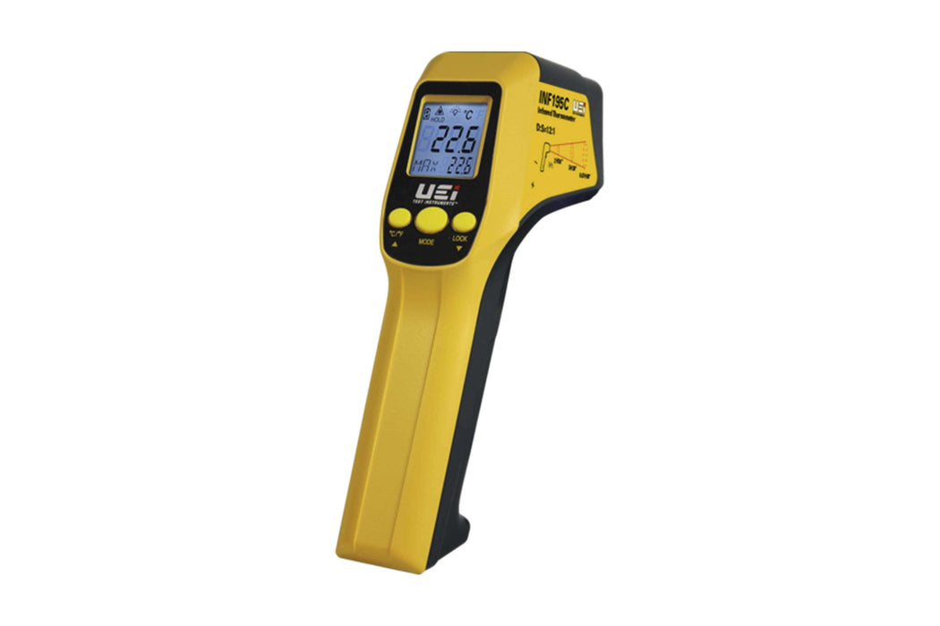 UEi INF195C 12:1 Infrared Thermometer w/K-Type Input - Edmondson Supply