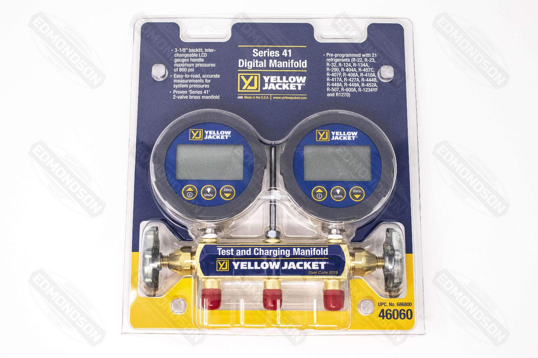 Yellow Jacket 46060 Series 41 Digital Manifold - Edmondson Supply
