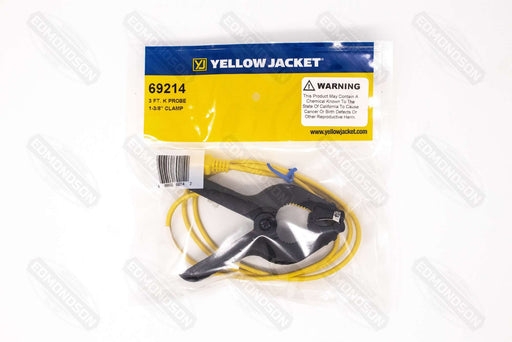 Yellow Jacket Replacement Clamp Temperature Probe - Type K (3') - Edmondson Supply