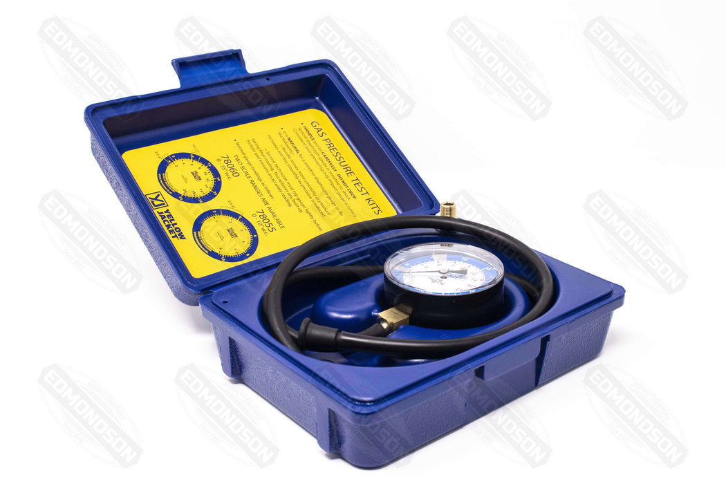 "Ritchie Yellow Jacket 78060 Gas Pressure Test Kit - 0-35"" W.C. - Edmondson Supply"
