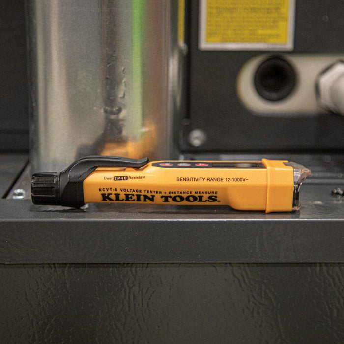 Klein Tools NCVT-6 Non-Contact Voltage Tester with Laser Distance Meter - Edmondson Supply
