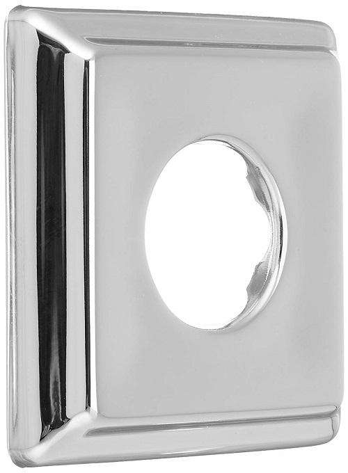 Delta Faucet RP52144 Dryden Chrome Square Shower Flange - Edmondson Supply